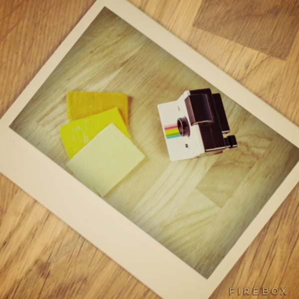 Polaroid Instant Camera Styled Cheese Slicer