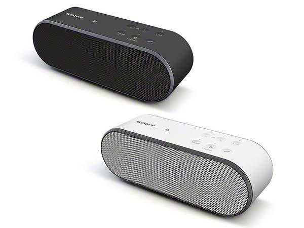 Sony SRS-X3 and SRS-X2 Portable Bluetooth Speakers with NFC Announced