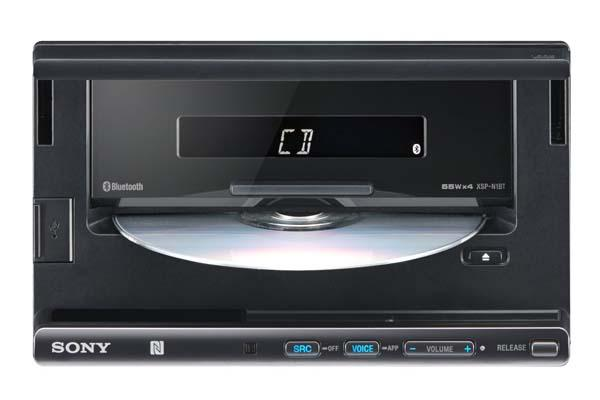 Sony XSPN1BT In-Dash Smartphone Dock with NFC and CD Player