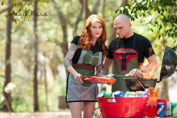 Star Wars Boba Fett Inspired Men's Apron
