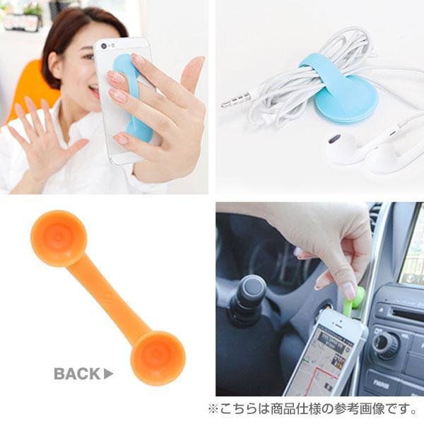 Sucker-Type Smart Hand Strap for Smartphones