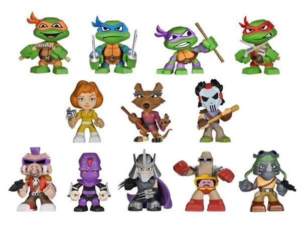 Teenage Mutant Ninja Turtles Mystery Mini Figures