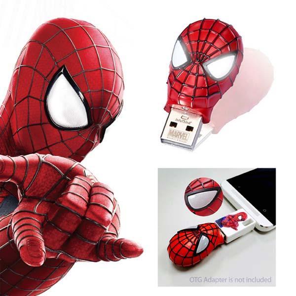 the amazing spiderman 2 usb flash drive gadgetsin