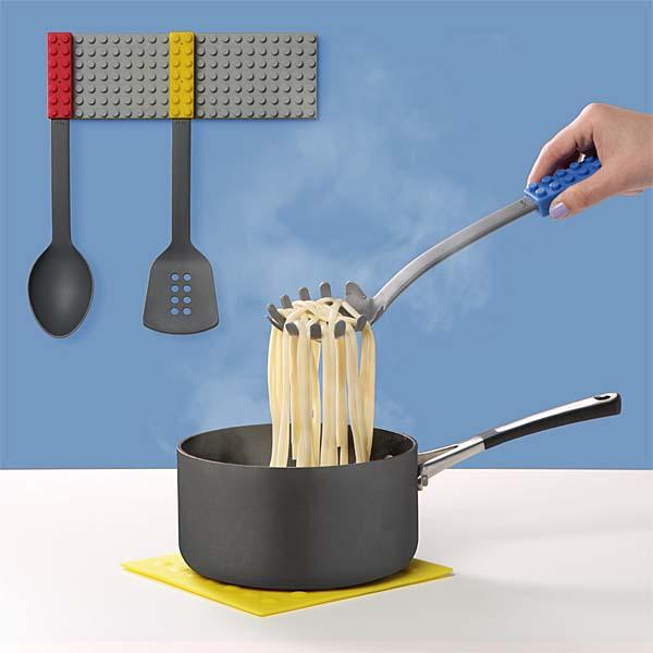 The Building Brick Inspired Kitchen Utensils