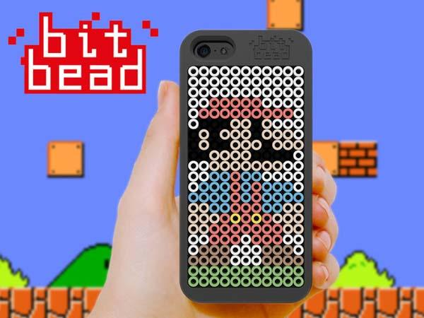 The Fuse Bead iPhone 5s Case with Your Own Pixel Art