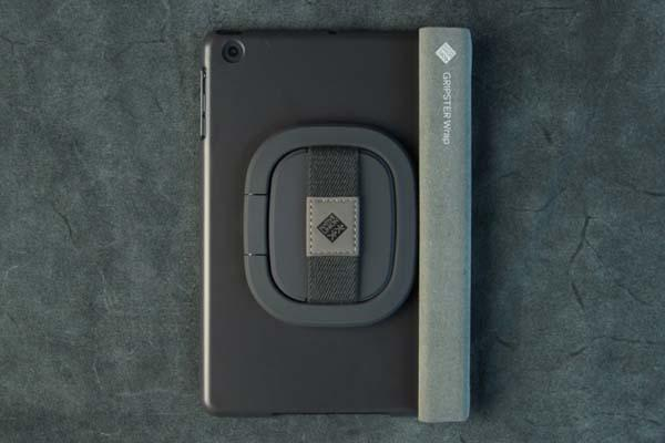 The Gripster Wrap iPad Air Case with Hand Strap and Stand