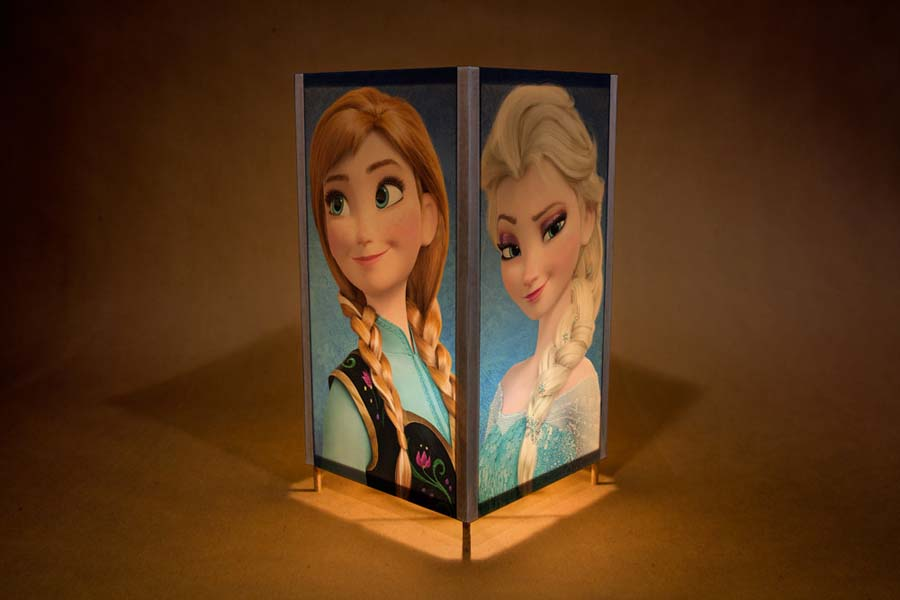 Handmade Disney Frozen night light