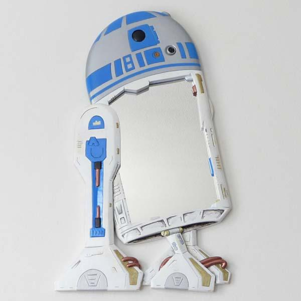 The Handmade Star Wars R2-D2 Wall Mirror