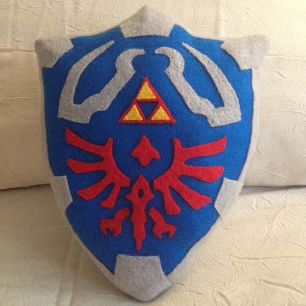 The Legend of Zelda Hylian Shield Pillow