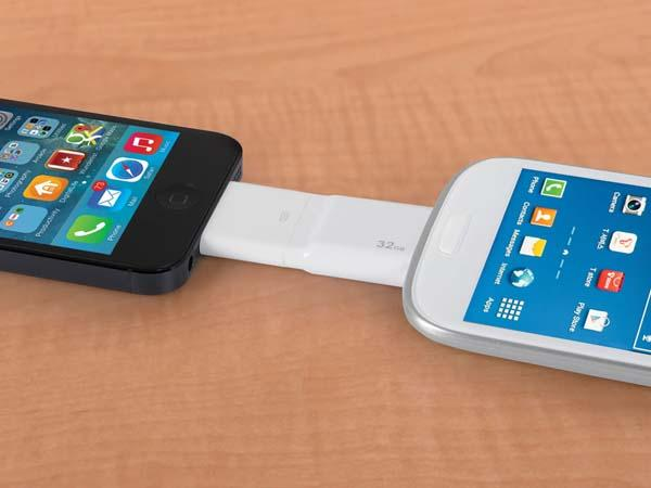 The Only Android and iPhone USB Drive