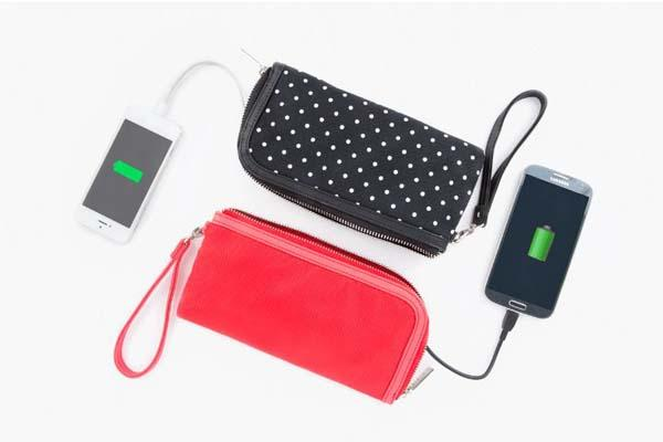 The Power Purse with Built-in Backup Battery