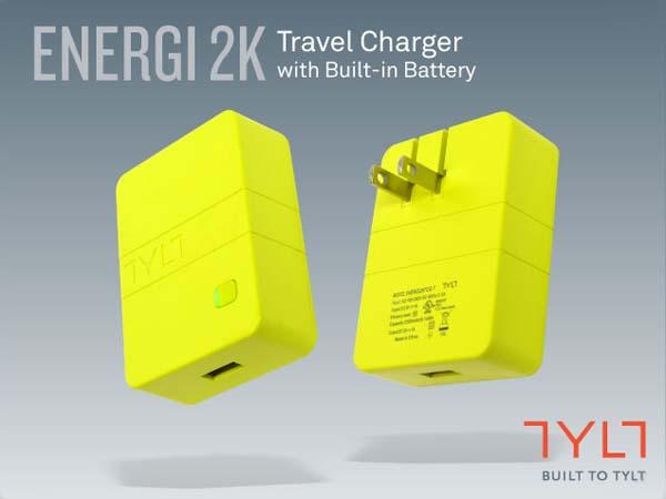 TYLT Energi 2K Wall Charger with Backup Battery