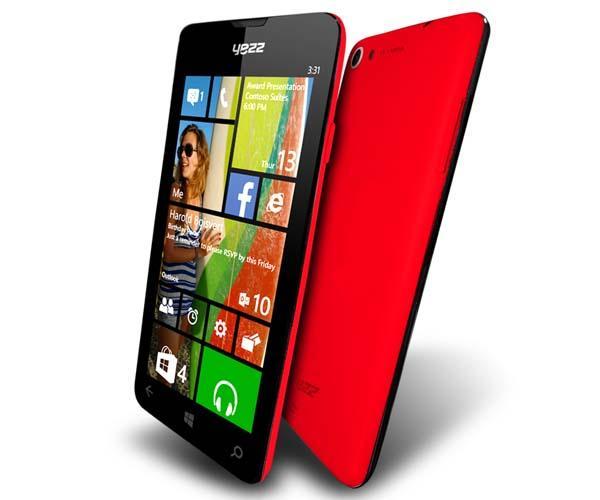 YEZZ Billy 4.7 Windows Phone Announced