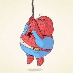 Hilarious Chunky Superheroes