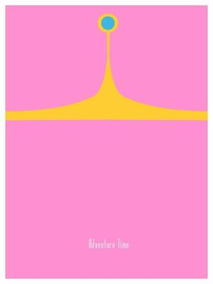 Adventure Time Minimal Posters