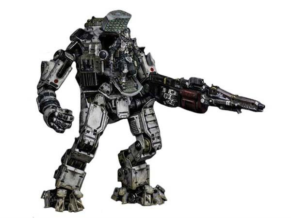 "20"" Titanfall Atlas Titan Action Figure with 6"" Pilot Figure"