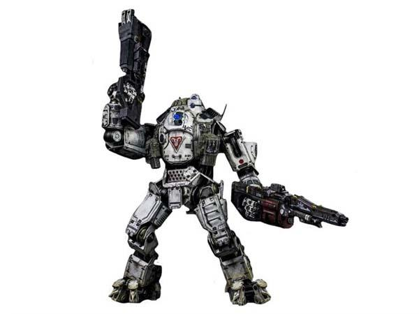 "20"" Titanfall Atlas Titan Action Figure with 6"" Pilot Figure"