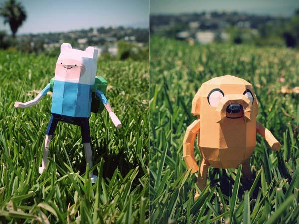 Adventure Time Paper Crafts