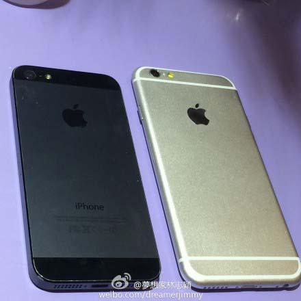 Apple iPhone 6 Leaked by Jimmy Lin