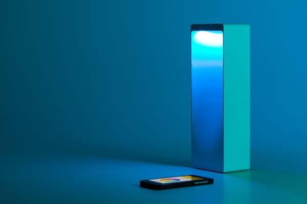 Cromatica App-Enabled Table Lamp and Bluetooth Speaker