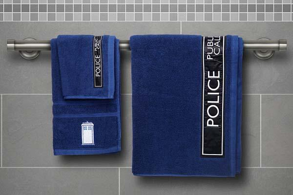 Doctor Who Bath Towel Set