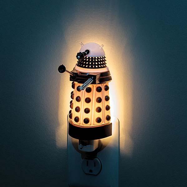 Doctor Who Dalek Night Light Gadgetsin
