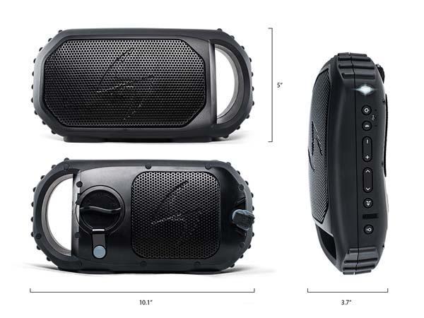 ECOXGEAR ECOSTONE Portable Waterproof Bluetooth Speaker