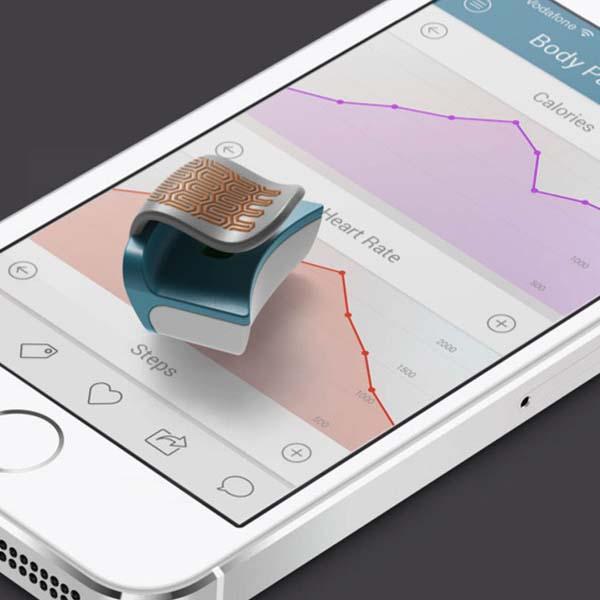 Flip An Wearable Smart Device on Your Ear
