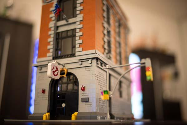 Ghostbusters HQ LEGO Set