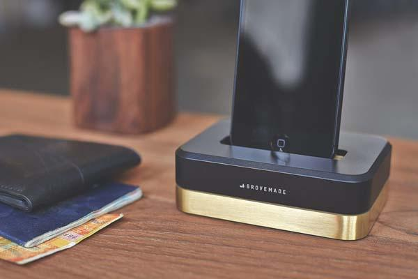 Grovemade Limited Edition Metal Docking Station for iPhone