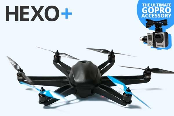 HEXO+ An Intelligent Flying Camera Drone for Aerial Filming