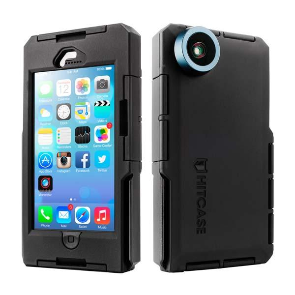 Hitcase Pro Waterproof iPhone 5s Case with Wide Angle Lens