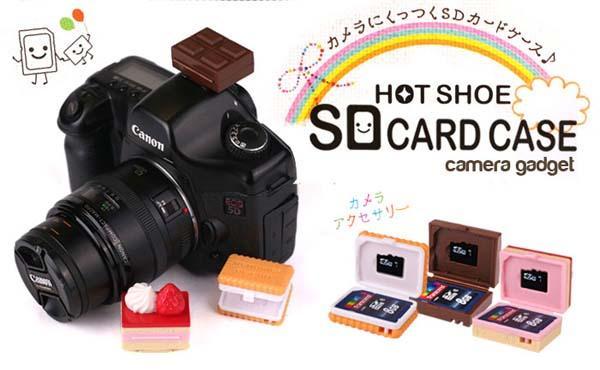 Hot Shoe SD Card Case