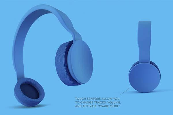 Isophones App-Enabled Bluetooth Headphones
