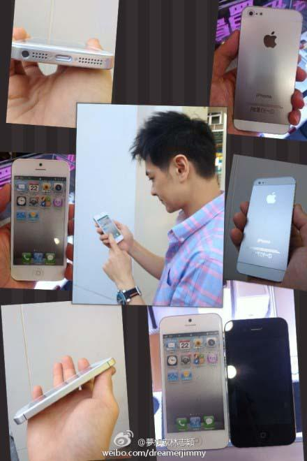 Leaked iPhone 5 by Jimmy Lin