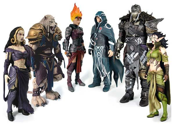 Magic: The Gathering Legacy Action Figures