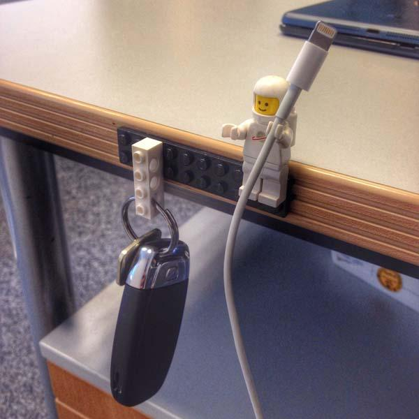 Make Your Own LEGO Cable Organizer