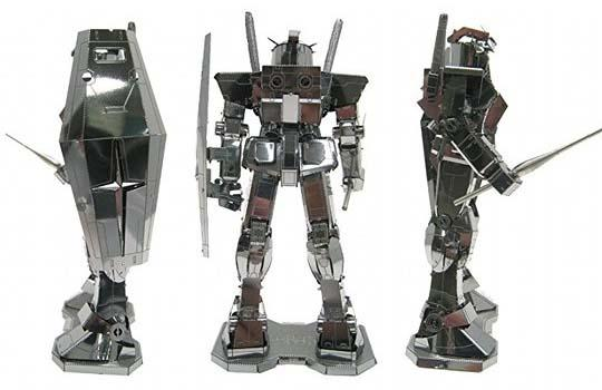 Metallic Nano Puzzle Mobile Suit Gundam Model