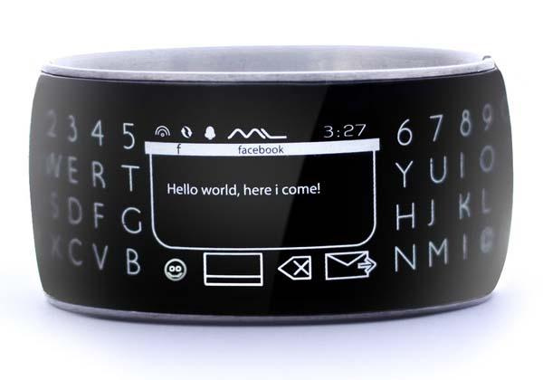 Moment Smartwatch The World's Wrap Around Smart Watch