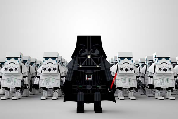 Momot Star Wars Paper Crafts