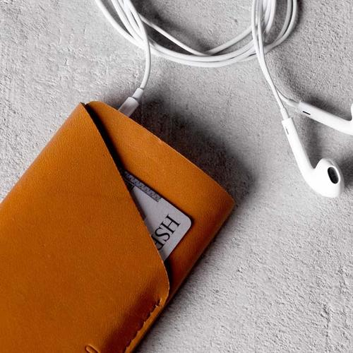 Mujjo Slim Fit Leather Wallet iPhone 5 Case