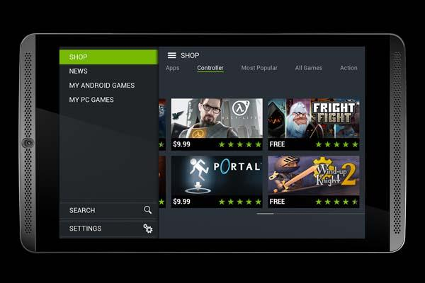 NVIDIA SHIELD Tablet and Wireless Game Controller