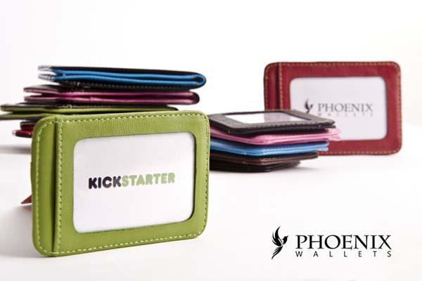 Phoenixwallets Slim RFID Protection Leather Wallet