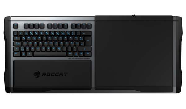 ROCCAT Sova Modular Wireless Keyboard with Mouse Pad
