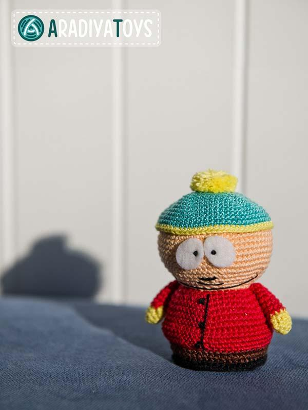 Crocheting Cartoons : Crochet Cartoon Characters South park themed crochet patterns ...