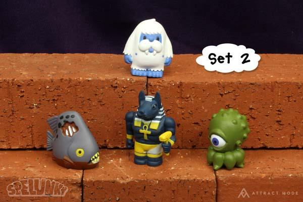 Spelunky Inspired Mini Figures