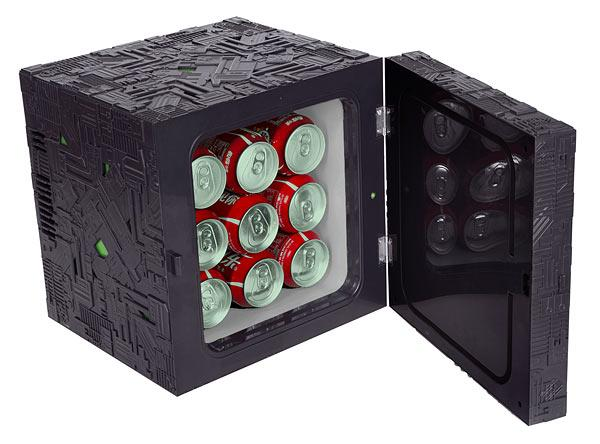 Star Trek Borg Cube Mini Fridge