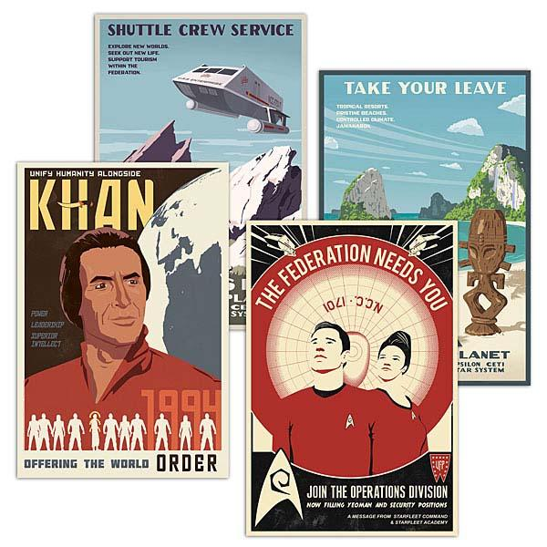 Star Trek Propaganda Art Prints