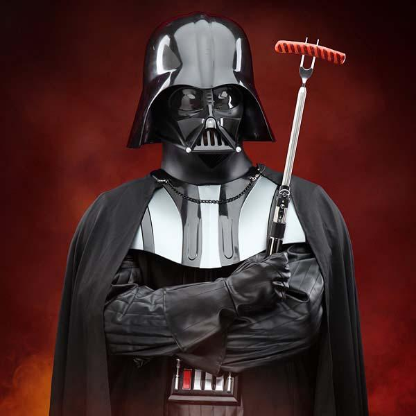 Star Wars Darth Vader Lightsaber Inspired BBQ Fork