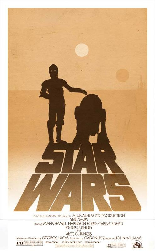 Star Wars Trilogy Alternative Poster Set